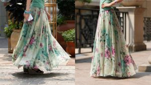make a skirt out of a dress